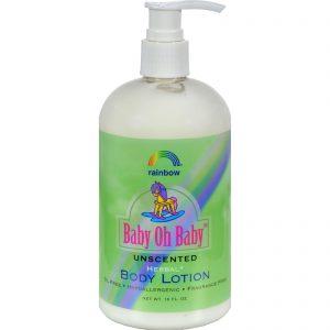Rainbow Research Body Lotion - Herbal - Baby - Unscented - 16 Fl Oz   Comprar Suplemento em Promoção Site Barato e Bom