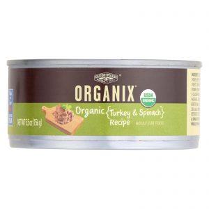 Castor And Pollux Organic Cat Food - Turkey And Spinach - Case Of 24 - 5.5 Oz.   Comprar Suplemento em Promoção Site Barato e Bom