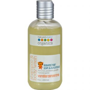 Nature's Baby Organics Shampoo And Body Wash Vanilla Tangerine - 8 Fl Oz   Comprar Suplemento em Promoção Site Barato e Bom
