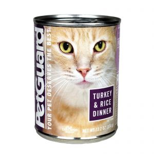 Petguard Cats Food - Turkey And Rice Dinner - Case Of 12 - 13.2 Oz.   Comprar Suplemento em Promoção Site Barato e Bom