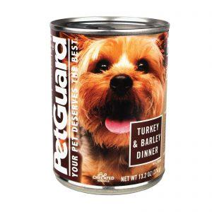 Petguard Dog Foods - Turkey And Barley - Case Of 12 - 13.2 Oz.   Comprar Suplemento em Promoção Site Barato e Bom