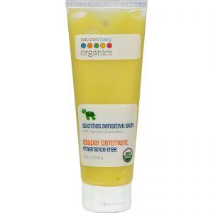 Nature's Baby Organics Diaper Ointment All Natural Fragrance Free - 3 Oz   Comprar Suplemento em Promoção Site Barato e Bom