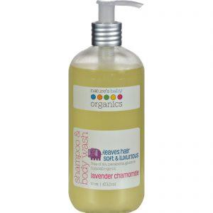 Nature's Baby Organics Shampoo And Body Wash Lavender Chamomile - 16 Fl Oz   Comprar Suplemento em Promoção Site Barato e Bom