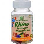 Nutrition Now Rhino Vitamin D Bears - 60 Gummy Bears   Comprar Suplemento em Promoção Site Barato e Bom