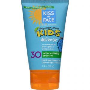 Kiss My Face Kids Sunblock Natural Mineral Lotion Spf 30 - 4 Fl Oz   Comprar Suplemento em Promoção Site Barato e Bom