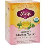 Yogi Organic Woman's Mother To Be Herbal Tea Caffeine Free - 16 Tea Bags - Case Of 6   Comprar Suplemento em Promoção Site Barato e Bom