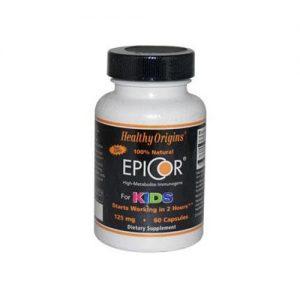 Healthy Origins Epicor For Kids - 125 Mg - 60 Capsules   Comprar Suplemento em Promoção Site Barato e Bom
