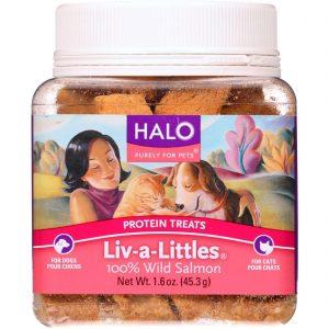 Halo Purely For Pets Protein Treats - Liv-a-little - Salmon - 1.6 Oz - Case Of 12   Comprar Suplemento em Promoção Site Barato e Bom