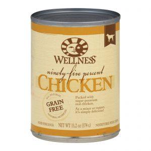 Wellness Dog Canned Food - 95% Chicken - Case Of 12 - 13.2 Oz.   Comprar Suplemento em Promoção Site Barato e Bom