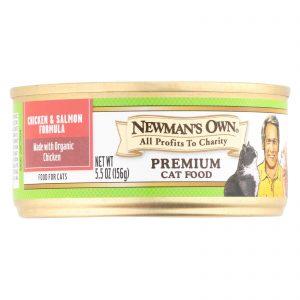 Newman's Own Organics Adult Cat Formula - Dry - Case Of 24 - 5.5 Oz.   Comprar Suplemento em Promoção Site Barato e Bom