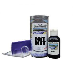 Wellinhand Action Remedies Non-toxic Lice Kit - 3 Piece Kit   Comprar Suplemento em Promoção Site Barato e Bom