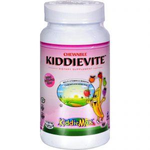 Maxi Health Chewable Kiddievite Natural Strawberry - 90 Chewables   Comprar Suplemento em Promoção Site Barato e Bom