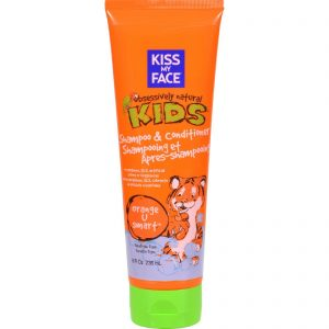 Kiss My Face Kids Shampoo And Conditioner Orange U Smart - 8 Fl Oz   Comprar Suplemento em Promoção Site Barato e Bom