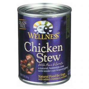 Wellness Pet Products Dog Food - Chicken With Peas And Carrots - Case Of 12 - 12.5 Oz.   Comprar Suplemento em Promoção Site Barato e Bom