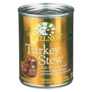 Wellness Pet Products Dog Food - Turkey With Barley And Carrots - Case Of 12 - 12.5 Oz.   Comprar Suplemento em Promoção Site Barato e Bom