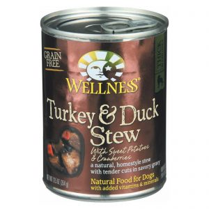Wellness Pet Products Dog Food - Turkey And Duck With Sweet Potatoes And Cranberries - Case Of 12 - 12.5 Oz.   Comprar Suplemento em Promoção Site Barato e Bom