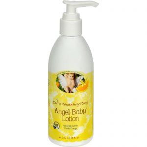 Earth Mama Angel Baby Lotion Vanilla Orange - 8 Fl Oz   Comprar Suplemento em Promoção Site Barato e Bom