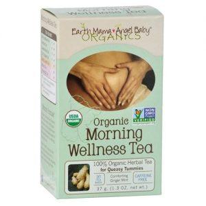 Earth Mama Angel Baby Morning Wellness Tea - 16 Tea Bags   Comprar Suplemento em Promoção Site Barato e Bom