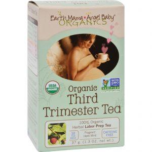 Earth Mama Angel Baby Third Trimester Tea - 16 Tea Bags   Comprar Suplemento em Promoção Site Barato e Bom
