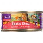 Halo Purely For Pets Cat Food - Spots Stew - Succulent Salmon - 5.5 Oz - Case Of 12   Comprar Suplemento em Promoção Site Barato e Bom