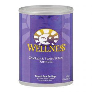 Wellness Pet Products Dog Food - Chicken And Sweet Potato Recipe - Case Of 12 - 12.5 Oz.   Comprar Suplemento em Promoção Site Barato e Bom