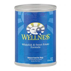 Wellness Pet Products Dog Food - Whitefish And Sweet Potato Recipe - Case Of 12 - 12.5 Oz.   Comprar Suplemento em Promoção Site Barato e Bom