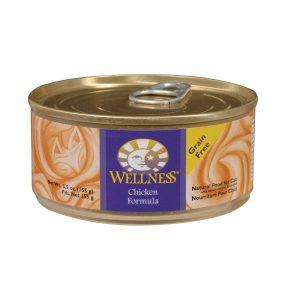 Wellness Pet Products Cat Food - Chicken Recipe - Case Of 24 - 5.5 Oz.   Comprar Suplemento em Promoção Site Barato e Bom