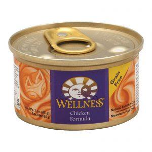 Wellness Pet Products Cat Food - Chicken Recipe - Case Of 24 - 3 Oz.   Comprar Suplemento em Promoção Site Barato e Bom
