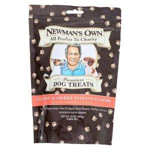 Newman's Own Organics Salmon And Sweet Potato Treats - Organic - Case Of 6 - 10 Oz.   Comprar Suplemento em Promoção Site Barato e Bom