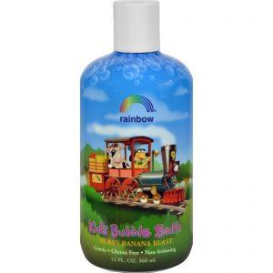 Rainbow Research Organic Herbal Bubble Bath For Kids Berry Banana Blast - 12 Fl Oz   Comprar Suplemento em Promoção Site Barato e Bom
