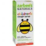 Zarbee's All-natural Children's Cough Syrup 12 Months+ - Natural Cherry Flavor - 4 Oz   Comprar Suplemento em Promoção Site Barato e Bom
