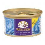 Wellness Pet Products Cat Food - Chicken And Herring - Case Of 24 - 3 Oz.   Comprar Suplemento em Promoção Site Barato e Bom