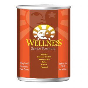 Wellness Pet Products Dog Food - Senior Recipe - Case Of 12 - 12.5 Oz.   Comprar Suplemento em Promoção Site Barato e Bom