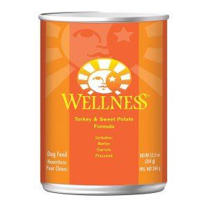 Wellness Pet Products Dog Food - Turkey And Sweet Potato Recipe - Case Of 12 - 12.5 Oz.   Comprar Suplemento em Promoção Site Barato e Bom