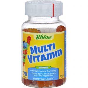 Nutrition Now Rhino Gummy Multivitamin - 60 Chewables   Comprar Suplemento em Promoção Site Barato e Bom