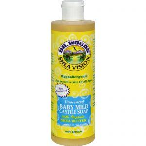 Dr. Woods Shea Vision Pure Castile Soap Baby Mild With Organic Shea Butter - 16 Fl Oz   Comprar Suplemento em Promoção Site Barato e Bom