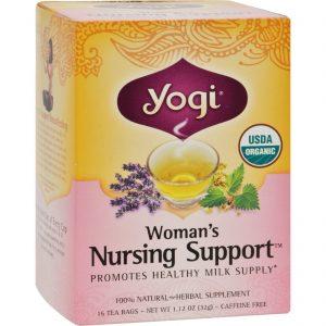 Yogi Tea Woman's Nursing Support - Caffeine Free - 16 Tea Bags   Comprar Suplemento em Promoção Site Barato e Bom