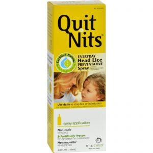 Hyland's Quit Nits Everyday Head Lice Preventative Spray - 4 Oz   Comprar Suplemento em Promoção Site Barato e Bom