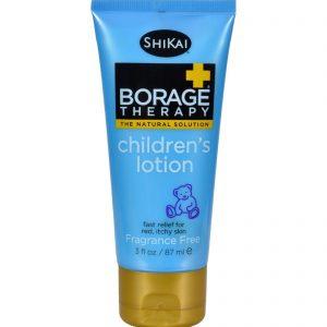 Shikai Borage Therapy Children's Lotion Fragrance Free - 3 Fl Oz   Comprar Suplemento em Promoção Site Barato e Bom