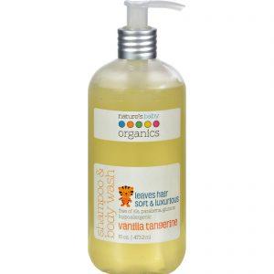 Nature's Baby Organics Shampoo And Body Wash Vanilla Tangerine - 16 Fl Oz   Comprar Suplemento em Promoção Site Barato e Bom