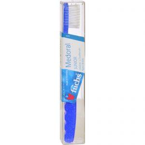 Fuchs Children's Soft Medoral Junior Nylon Bristle Toothbrush - 1 Toothbrush - Case Of 10   Comprar Suplemento em Promoção Site Barato e Bom