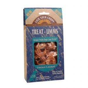 Lick Your Chops Treat - Umms Dog Treats - Chicken Calamari - Case Of 6 - 2.5 Oz.   Comprar Suplemento em Promoção Site Barato e Bom