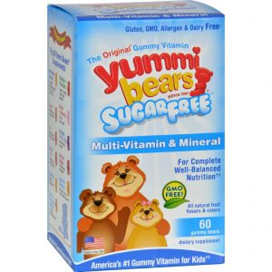 Hero Nutritionals Yummi Bears Multi-vitamin And Mineral Sugar Free - 60 Yummi Bears   Comprar Suplemento em Promoção Site Barato e Bom