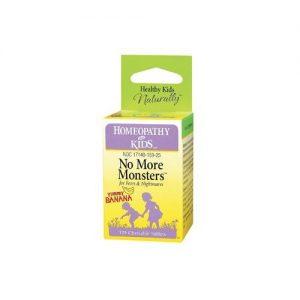Herbs For Kids No More Monsters Yummy Banana - 125 Chewables   Comprar Suplemento em Promoção Site Barato e Bom