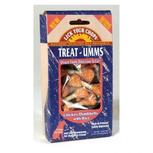 Lick Your Chops Treat - Umms Dog Treats - Chicken Dumbell - Case Of 6 - 2.5 Oz.   Comprar Suplemento em Promoção Site Barato e Bom
