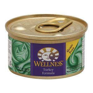 Wellness Pet Products Cat Food - Turkey Recipe - Case Of 24 - 3 Oz.   Comprar Suplemento em Promoção Site Barato e Bom