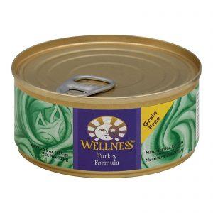 Wellness Pet Products Cat Food - Turkey Recipe - Case Of 24 - 5.5 Oz.   Comprar Suplemento em Promoção Site Barato e Bom