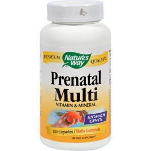 Nature's Way Prenatal Multi - 180 Capsules   Comprar Suplemento em Promoção Site Barato e Bom