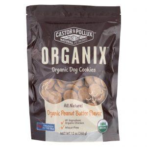 Castor And Pollux Organic Dog Cookies - Peanut Butter - Case Of 8 - 12 Oz.   Comprar Suplemento em Promoção Site Barato e Bom