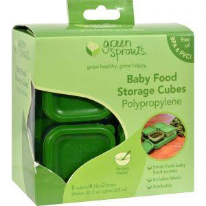Green Sprouts Food Storage Cubes - 8 Pack   Comprar Suplemento em Promoção Site Barato e Bom